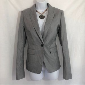 Women's HUGO BOSS Gray Blazer Suit Jacket Size 6